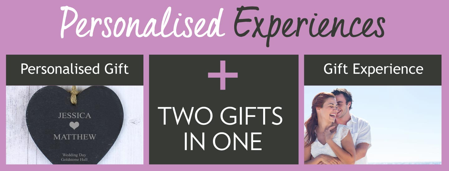 Personalised Gift Plus Gift Experience