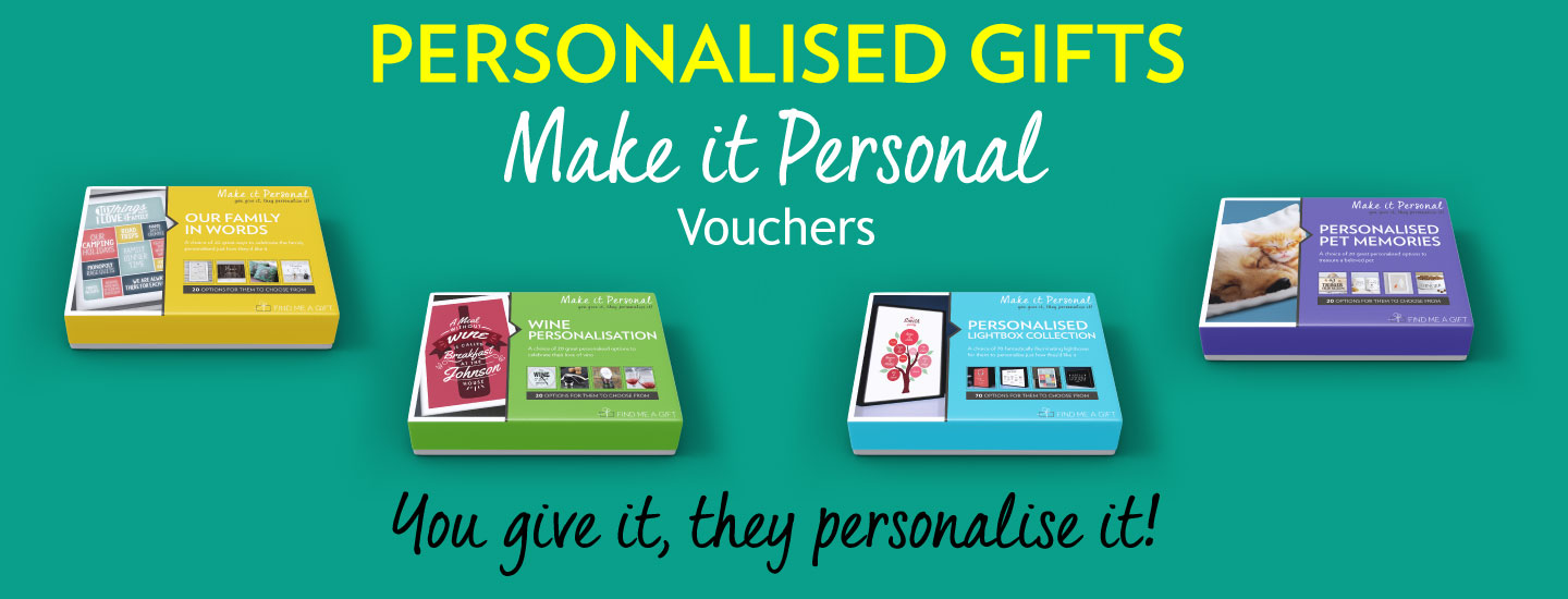 Make it Personal Vouchers - You give it, they personalise it!